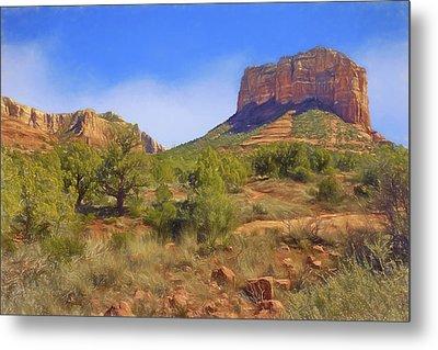 Sedona Landscape - 1 - Arizona Metal Print