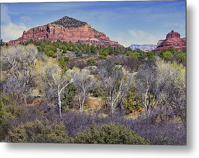 Sedona Landscape - 2 - Arizona Metal Print