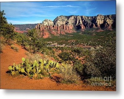 Sedona Morning Metal Print by Jon Burch Photography