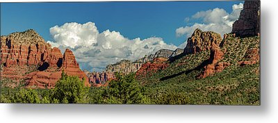Metal Print featuring the photograph Sedona Panoramic II by Bill Gallagher