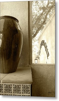 Metal Print featuring the photograph Sedona Series - Jug And Window by Ben and Raisa Gertsberg