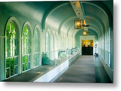 Seduction Of Architecture Metal Print by Karen Wiles
