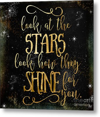 See How The Stars Shine Metal Print