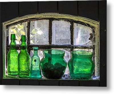 Metal Print featuring the photograph Seeing Green by Odd Jeppesen