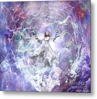Seek And You Shall Find Metal Print by Dolores Develde