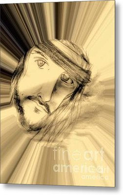 Seek Him Metal Print