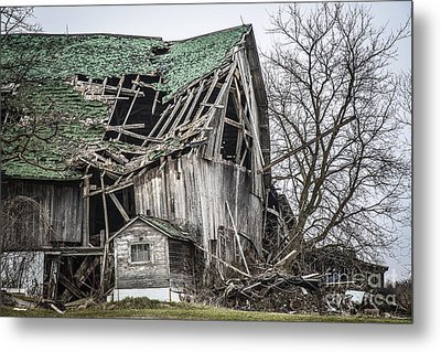 Seen Better Days Metal Print