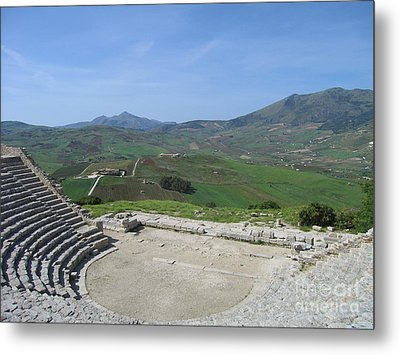 Segesta In Spring  Metal Print by Clay Cofer