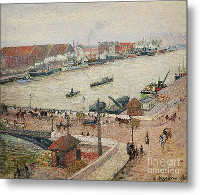 Seine Metal Print by Celestial Images