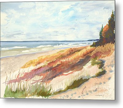 Metal Print featuring the painting Selah by Sandra Strohschein