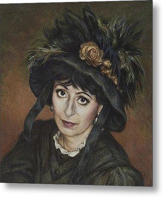 Self-portrait A La Camille Claudel Metal Print