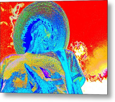 Self-portrait Metal Print