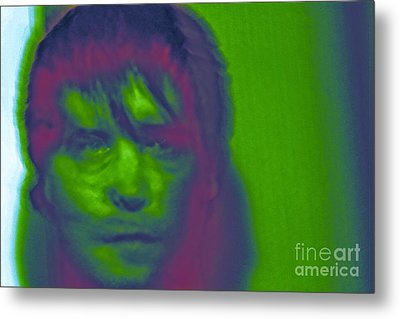 Metal Print featuring the photograph Self Portrait Number 1 by Xn Tyler