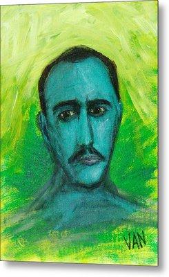 Self Portrait Metal Print by Van Winslow