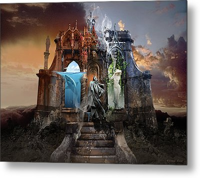 Self Reincarnation  Metal Print by George Grie