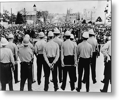 Selma To Montgomery March Completed Metal Print