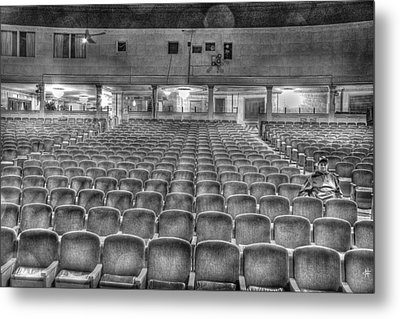 Senate Theatre Seating Detroit Mi Metal Print