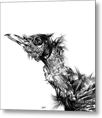 Senescence 5 Metal Print