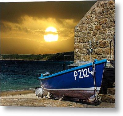 Sennen Cove Cornwall Metal Print