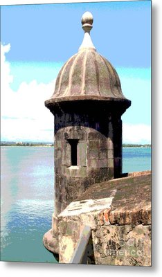 Sentry Box In El Morro Metal Print