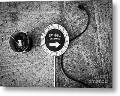 Metal Print featuring the photograph Seoul Entrance by Dean Harte