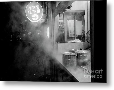 Metal Print featuring the photograph Seoul Steam by Dean Harte