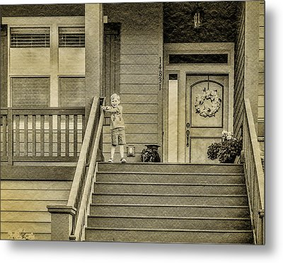 Sepia Metal Print by Photographic Art by Russel Ray Photos