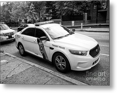 septa southeastern pennsylvania transit authority transit police ford cruiser patrol car Philadelphi Metal Print