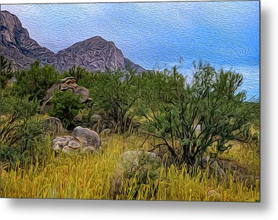 Metal Print featuring the photograph September Oasis No.2 by Mark Myhaver