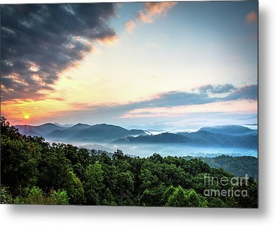 Metal Print featuring the photograph September Sunrise by Douglas Stucky