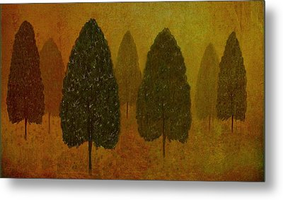 September Trees  Metal Print by David Dehner