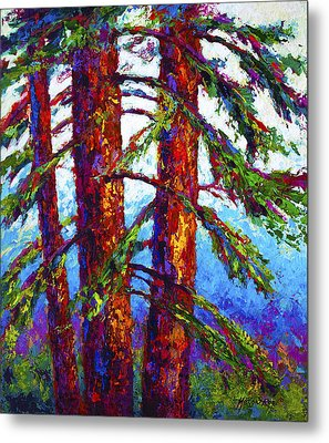 Sequoia Metal Print by Marion Rose