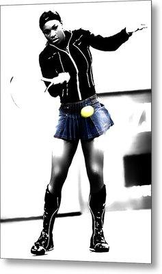 Serena Williams 03b Metal Print