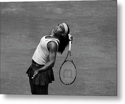 Serena Williams 4 Metal Print by Dani Pozo