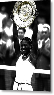 Serena Williams Got Another Title Metal Print