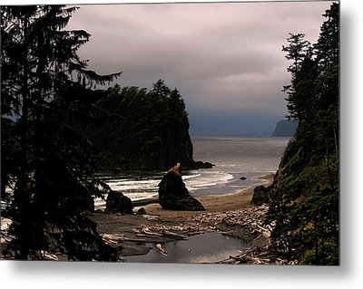 Serene And Pure - Ruby Beach - Olympic Peninsula Wa Metal Print by Christine Till