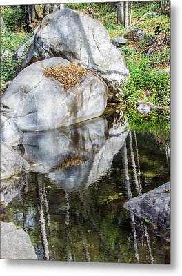 Serene Reflections Metal Print by Ed Clark