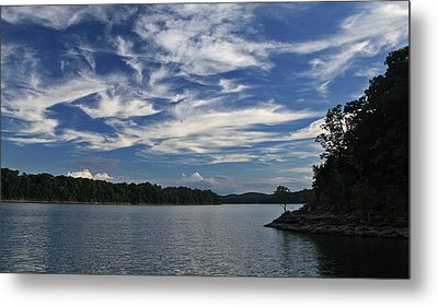 Metal Print featuring the photograph Serene Skies by Gary Kaylor