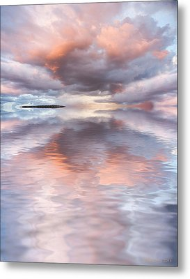 Serenity And Peace Metal Print by Jerry McElroy