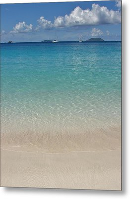 Serenity At Trunk Bay  Metal Print
