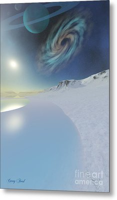 Serenity Metal Print by Corey Ford