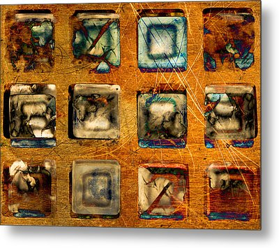 Serial Variation Metal Print by Don Gradner