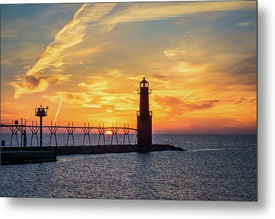 Metal Print featuring the photograph Serious Sunrise by Bill Pevlor