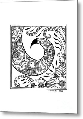 Serpent's Tail Metal Print