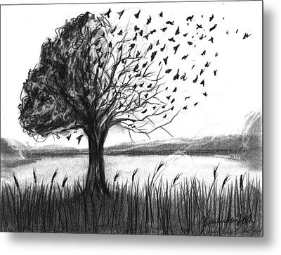 Set Free Metal Print by J Ferwerda