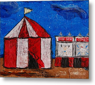 Set My Circus Down Metal Print