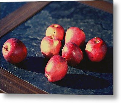 Seven Apples Metal Print