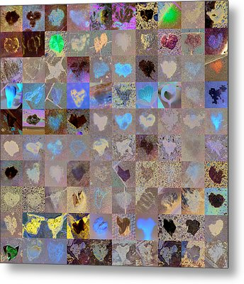 Seven Hundred Series Metal Print by Boy Sees Hearts