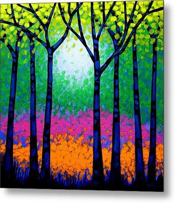Seven Trees Metal Print by John  Nolan