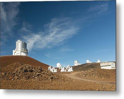Several Mauna Kea Observatories Metal Print by Jim Thompson